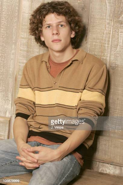 Jesse Eisenberg during 2005 Sundance Film Festival 'The Whale and the Squid' Portraits at HP Portrait Studio in Park City Utah United States