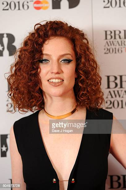 Jesse Glynee attends the nominations launch for The Brit Awards 2016 at ITV Studios on January 14 2016 in London England