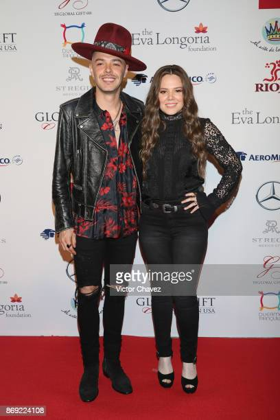 Jesse Huerta and Joy Huerta attend The Global Gift Gala Mexico 2017 at St Regis Hotel on November 1 2017 in Mexico City Mexico