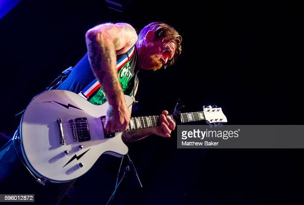 Jesse Hughes of Eagles of Death Metal performs at O2 Forum Kentish Town on August 26 2016 in London England
