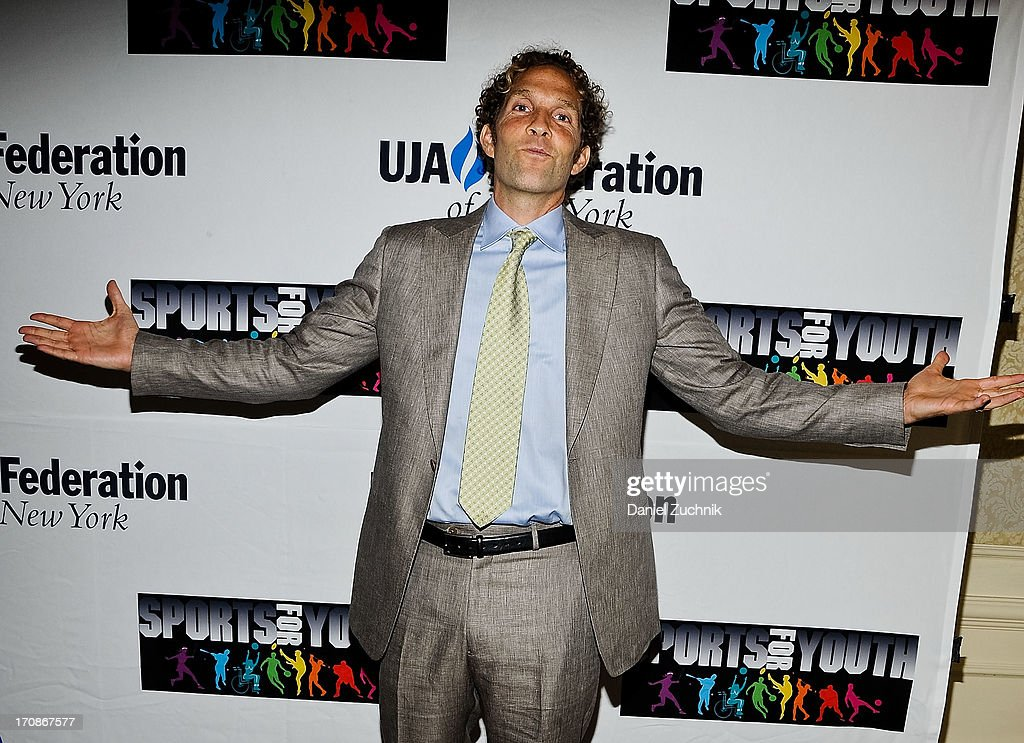 <a gi-track='captionPersonalityLinkClicked' href=/galleries/search?phrase=Jesse+Itzler&family=editorial&specificpeople=4051730 ng-click='$event.stopPropagation()'>Jesse Itzler</a> attends UJA-Federation Of New York's Sports for Youth Luncheon at The Roosevelt Hotel on June 19, 2013 in New York City.