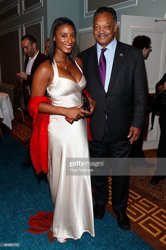 Jesse Jackson and guest attend Africa-America Institute 60th Anniversary Awards Gala at New York Hilton on September 25, 2013 in New York City.
