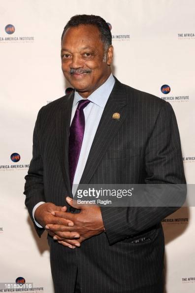 Jesse Jackson attends AfricaAmerica Institute 60th Anniversary Awards Gala at New York Hilton on September 25 2013 in New York City