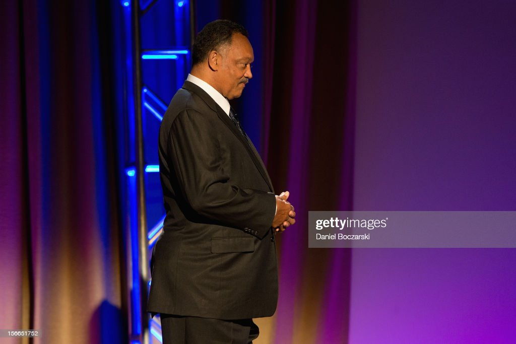 Jesse Jackson attends An Evening with Berry Gordy at the Art Institute Of Chicago on November 17, 2012 in Chicago, Illinois.