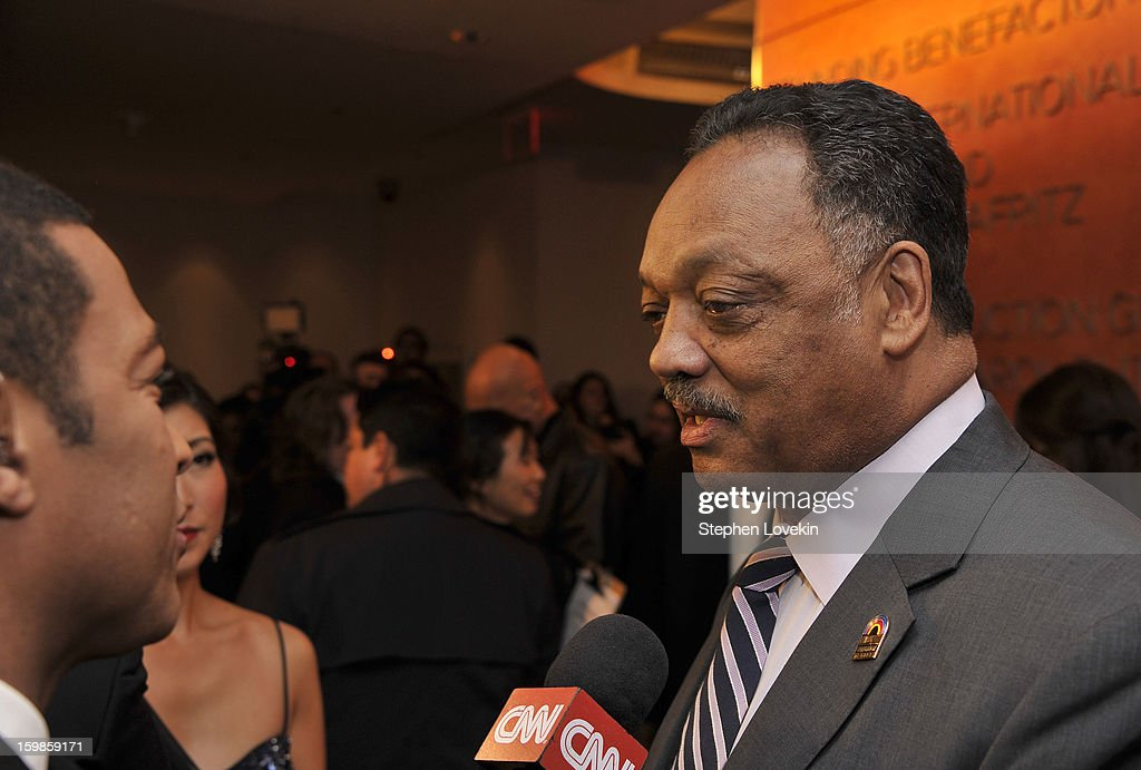 Jesse Jackson attends The Creative Coalition's 2013 Inaugural Ball at the Harman Center for the Arts on January 21, 2013 in Washington, United States.