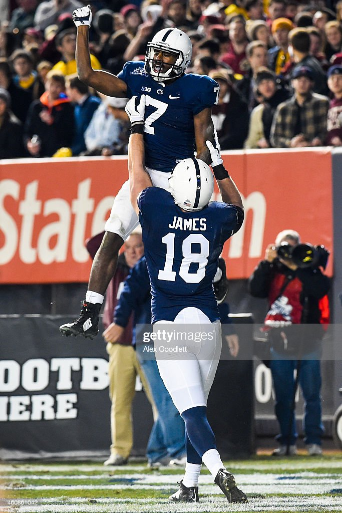 New Era Pinstripe Bowl - Boston College v Penn State