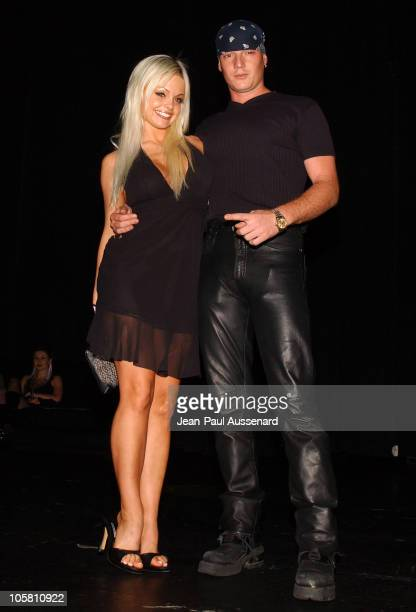 Jesse Jane and guest during Michelle Rodriguez Hosts Fifi Collection and Deseo 23 Runway Fashion Show at Avalon in Hollywood California United States