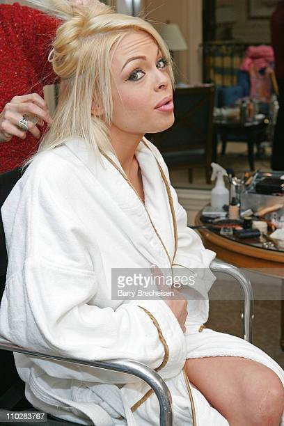 Jesse Jane during Digital Playground's Jesse Jane prepares to cohost the AVN 2006 Awards Show at Venetian Hotel in Las Vegas Nevada United States