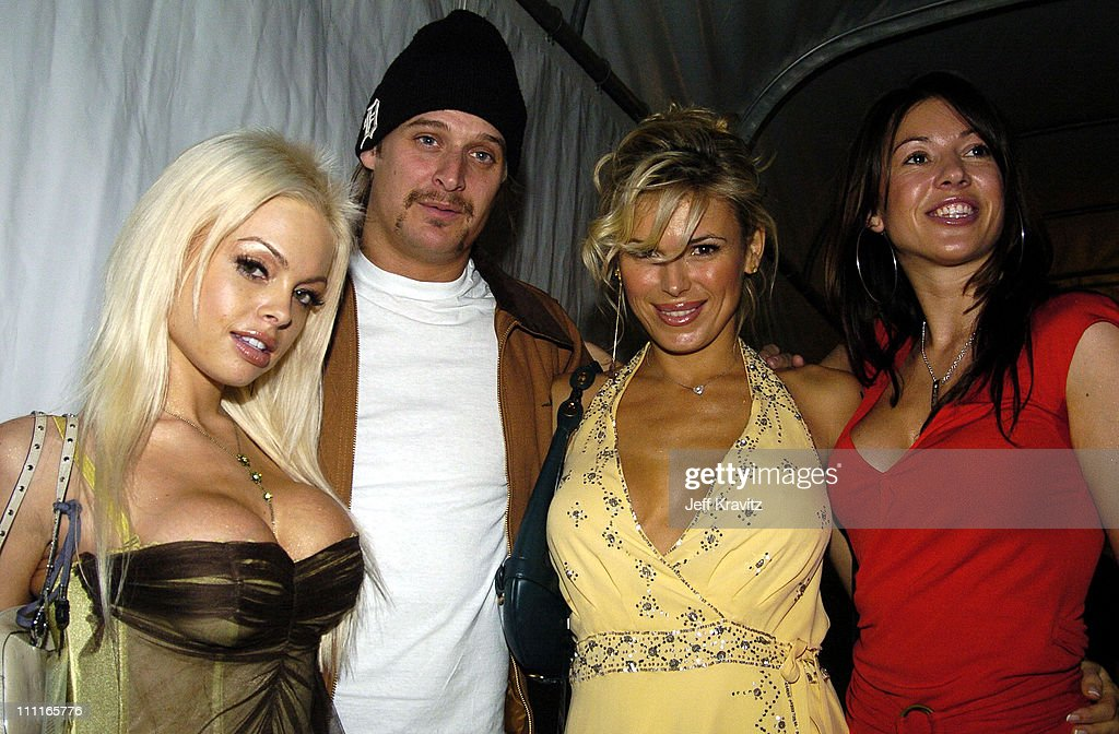 <a gi-track='captionPersonalityLinkClicked' href=/galleries/search?phrase=Jesse+Jane&family=editorial&specificpeople=2103220 ng-click='$event.stopPropagation()'>Jesse Jane</a>, <a gi-track='captionPersonalityLinkClicked' href=/galleries/search?phrase=Kid+Rock&family=editorial&specificpeople=171123 ng-click='$event.stopPropagation()'>Kid Rock</a>, and guests during 2004 MTV European Music Awards - Backstage And Audience at Torr di Valle in Rome, Italy.