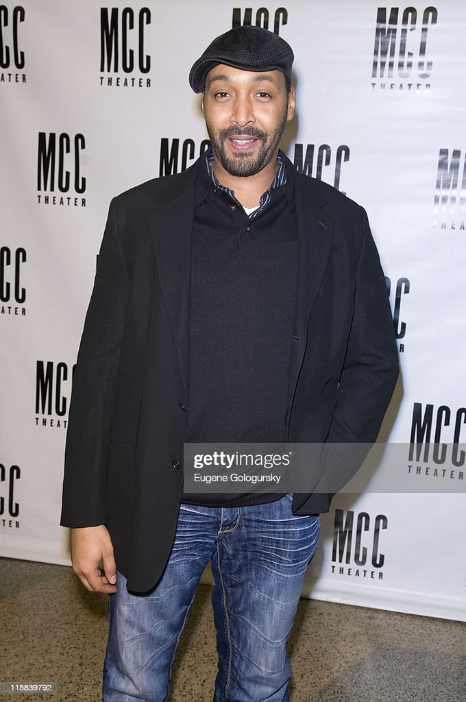 Jesse L. Martin attends the MCC Theater presentation of 'Miscast 2008' on March 10, 2008 in New York City.