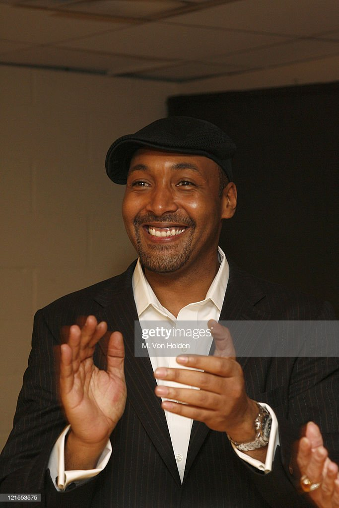 Jesse L. Martin during Fifth Annual Our Time Benefit Gala Co-Hosted by 'Law & Orders' Mariska Hargitay and Jesse L. Martin - Backstage and Performance at Jack H. Skirball Center in New York City, New York, United States.