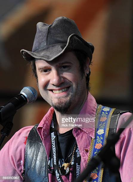 Jesse Lenat performs at the Farm Aid concert at the Comcast Center in Mansfield