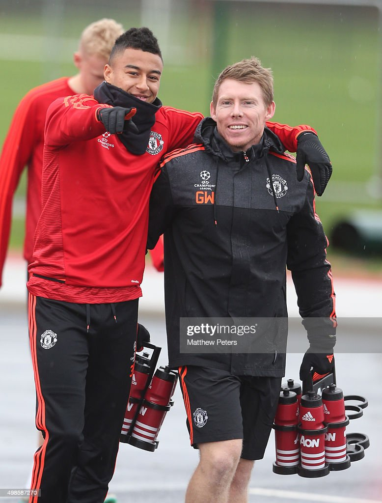Manchester United and PSV Training Session - UEFA Champions League