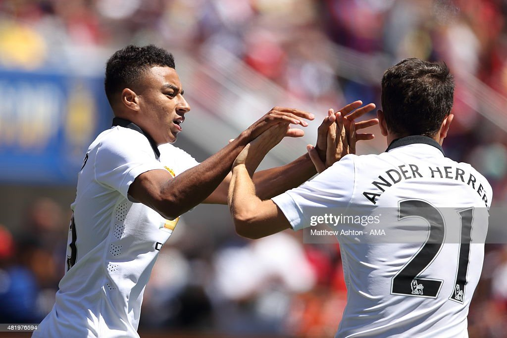 International Champions Cup 2015 - Manchester United v FC Barcelona : News Photo