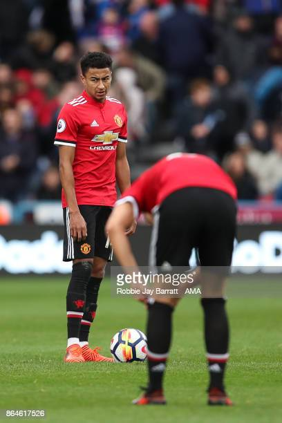 Jesse Lingard of Manchester United dejected during the Premier League match between Huddersfield Town and Manchester United at John Smith's Stadium...