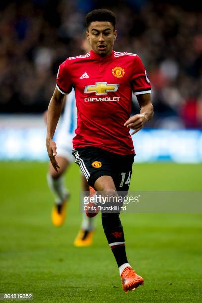Jesse Lingard of Manchester United in action during the Premier League match between Huddersfield Town and Manchester United at John Smith's Stadium...