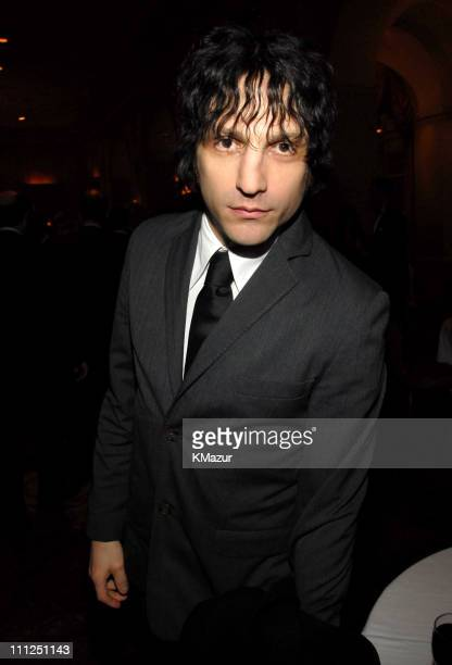Jesse Malin during 21st Annual Rock and Roll Hall of Fame Induction Ceremony Cocktails and Dinner at Waldorf Astoria Hotel in New York City New York...