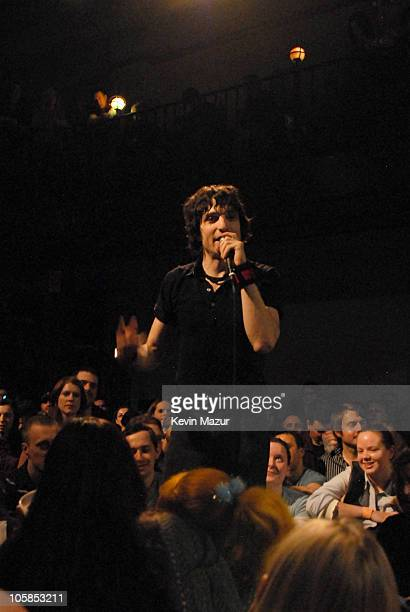 Jesse Malin during Jesse Malin in Concert at the Bowery Ballroom in New York City March 19 2007 at Bowery Ballroom in New York City New York United...