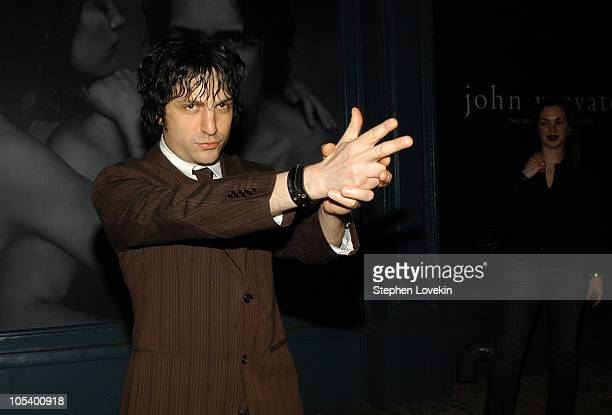 Jesse Malin during John Varvatos Fragrance Launch Inside Party and Arrivals at The Canal Room in New York City New York United States