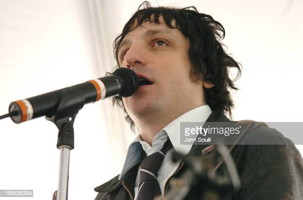 Jesse Malin during The John Varvatos 3rd Annual Stuart House Charity Benefit Inside and Arrivals at John Varvatos Boutique in Hollywood California...