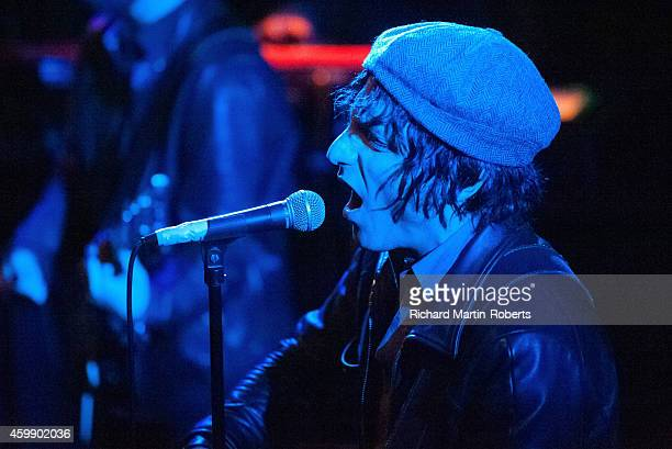 Jesse Malin performs on stage at The Kazimier on December 3 2014 in Liverpool United Kingdom