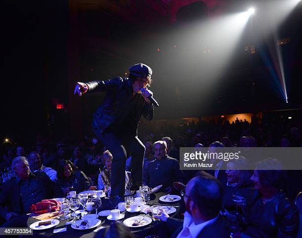 Jesse Malin performs onstage during The 6th Annual Little Kids Rock Benefit at Hammerstein Ballroom on October 23 2014 in New York City