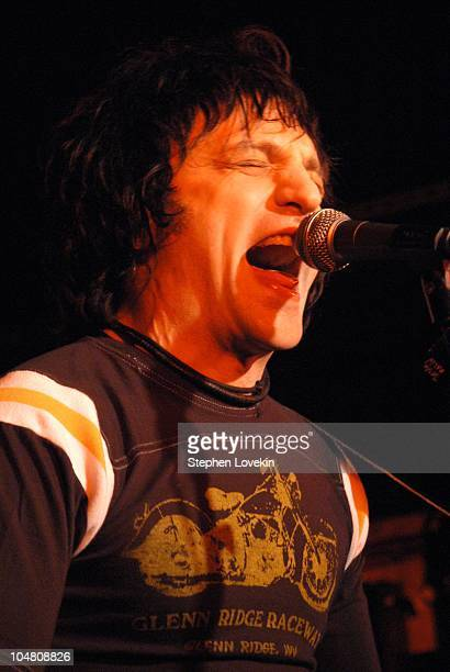 Jesse Malin record release party at The Mercury Lounge in New York City New York United States