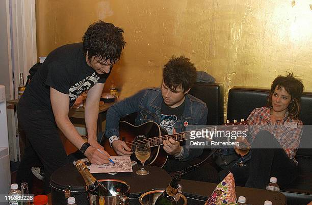 Jesse Malin Ryan Adams and Parker Posey *Exclusive*