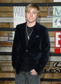 Jesse McCartney during E and EMA's 2007 Golden Globe After Party Arrivals at 9900 Wilshire in Beverly Hills California United States