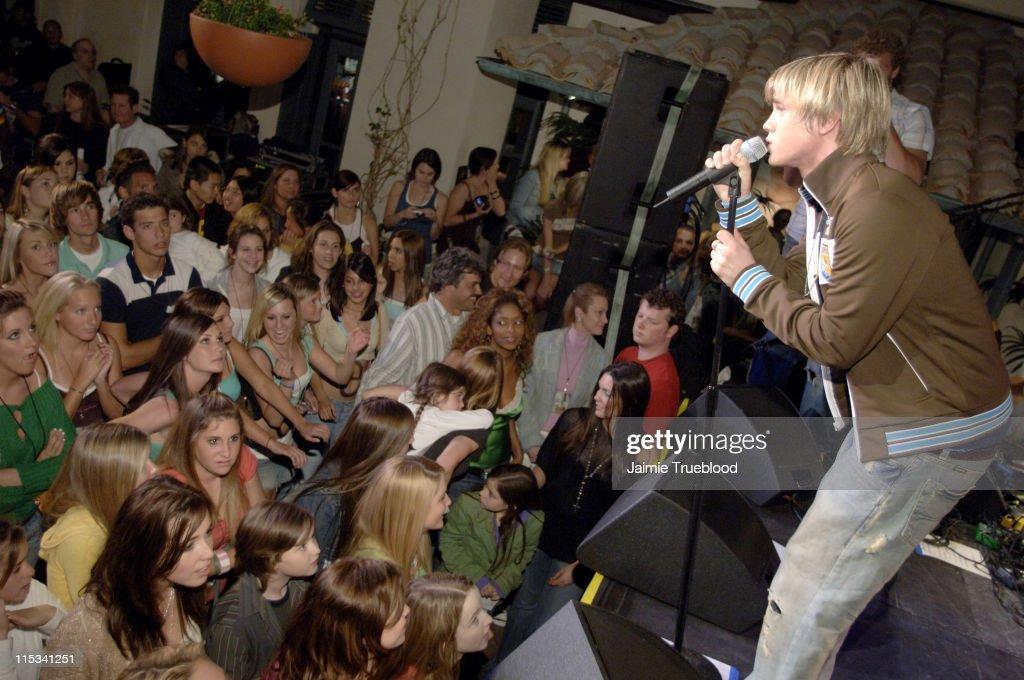 Jesse McCartney during Jesse McCartney and 'Summerland' Cast Visit Hollister Store in Newport Beach at Newport Fashion Island in Newport Beach...
