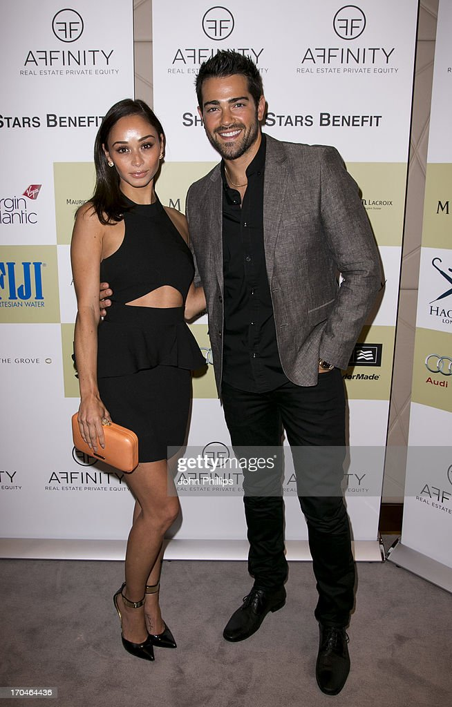 <a gi-track='captionPersonalityLinkClicked' href=/galleries/search?phrase=Jesse+Metcalfe&family=editorial&specificpeople=208805 ng-click='$event.stopPropagation()'>Jesse Metcalfe</a> and <a gi-track='captionPersonalityLinkClicked' href=/galleries/search?phrase=Cara+Santana&family=editorial&specificpeople=4311902 ng-click='$event.stopPropagation()'>Cara Santana</a> attend the Affinity Real Estate Shooting Stars Benefit Welcome Pairing Dinner at Asprey, New Bond Street on June 13, 2013 in London, England.