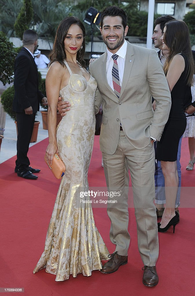Jesse Metcalfe (R) and Cara Santana attend the 'Dallas' photocall during the 53rd Monte-Carlo TV Festival on June 12, 2013 in Monte-Carlo, Monaco.