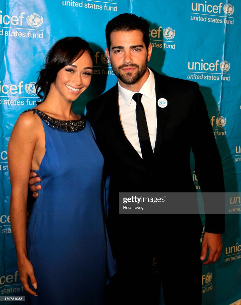 <a gi-track='captionPersonalityLinkClicked' href=/galleries/search?phrase=Jesse+Metcalfe&family=editorial&specificpeople=208805 ng-click='$event.stopPropagation()'>Jesse Metcalfe</a> and <a gi-track='captionPersonalityLinkClicked' href=/galleries/search?phrase=Cara+Santana&family=editorial&specificpeople=4311902 ng-click='$event.stopPropagation()'>Cara Santana</a> on the red carpet at The UNICEF Audrey Hepburn Society Ball at Wortham Center Brown Theater on September 6, 2013 in Houston, Texas.