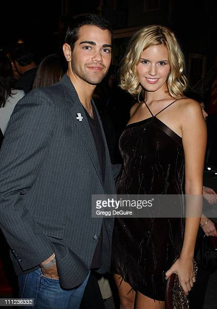 Jesse Metcalfe and Maggie Grace during 2005 ABC Winter Press Tour Party Party at Universal Studios in Universal City California United States