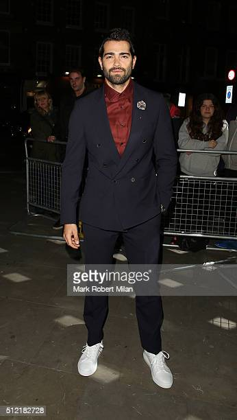 Jesse Metcalfe attending the The Brit Awards Warner Music Group After Party on February 24 2016 in London England