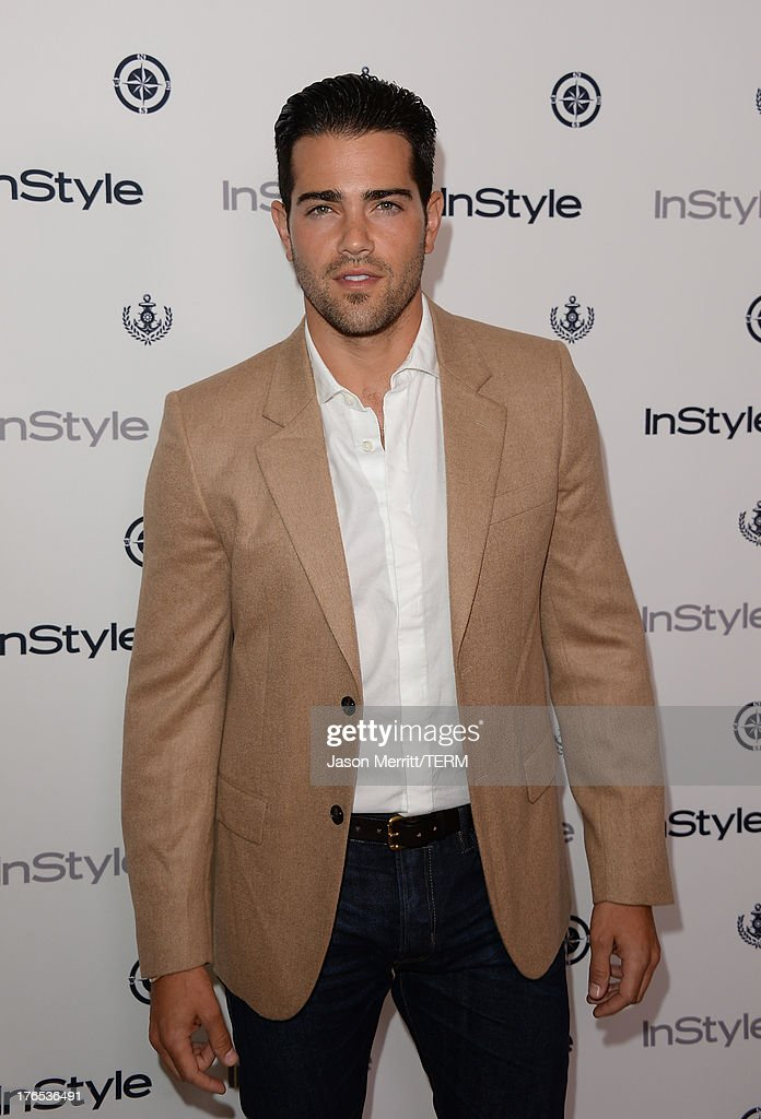 <a gi-track='captionPersonalityLinkClicked' href=/galleries/search?phrase=Jesse+Metcalfe&family=editorial&specificpeople=208805 ng-click='$event.stopPropagation()'>Jesse Metcalfe</a> attends the InStyle Summer Soiree held Poolside at the Mondrian hotel on August 14, 2013 in West Hollywood, California.