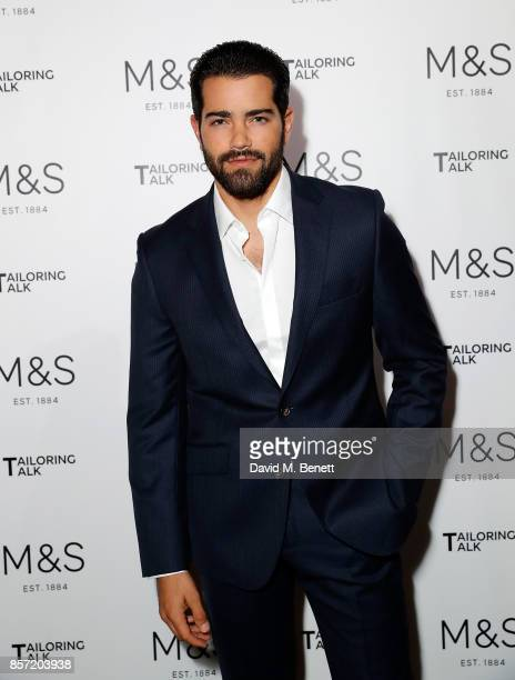 Jesse Metcalfe attends the MS Tailoring Talk on October 3 2017 in London England