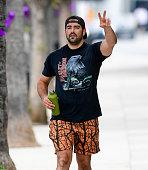 Celebrity Sightings In Los Angeles - September 26, 2021