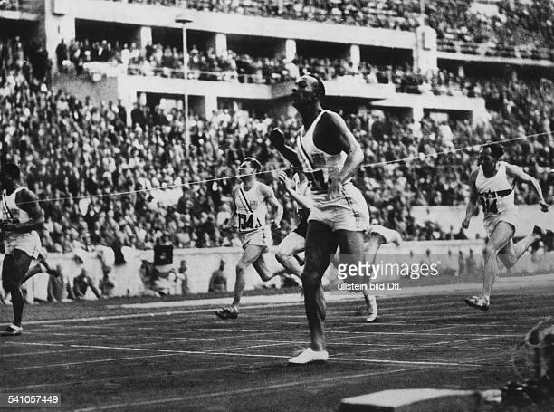 Jesse Owens *USAmerican track and field athletewon 4 gold medals at the Summer Olympics in Berlin in 1936Summer Olympics in Berlin in August 1936...