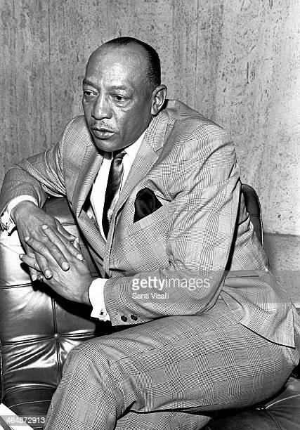 Jesse Owens during an interview on April 22 1968 in New York New York