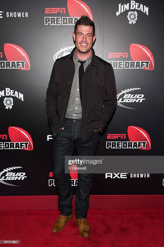 Jesse Palmer attends the ESPN The Magazine 10th annual Pre-Draft Party at The IAC Building on April 24, 2013 in New York City.