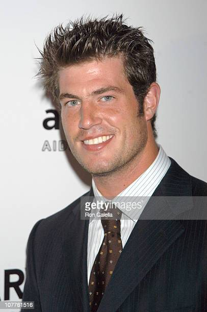 Jesse Palmer during amfAR's 12th Annual 'Boathouse Rock' Party Arrivals at Tavern on the Green in New York City New York United States