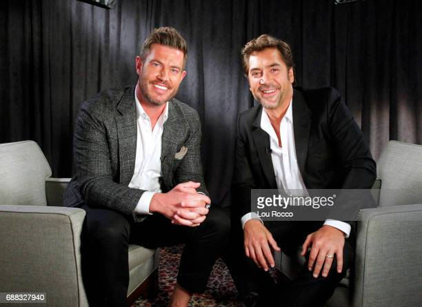 AMERICA Jesse Palmer interviews Javier Bardem on 'Good Morning America' Wednesday May 24 airing on the ABC Television Network JESSE
