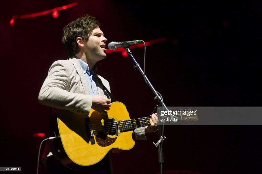 Jesse Quin performs on stage in concert at Razzmatazz on March 20, 2013 in Barcelona, Spain.
