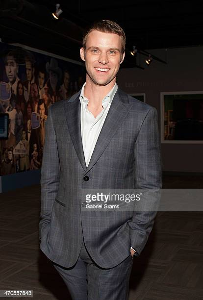 Jesse Spencer attends 'Chicago Fire' Cast Photo Call at Museum of Broadcast Communications on February 19 2014 in Chicago Illinois