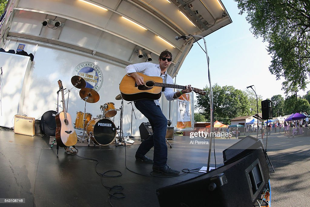 Jesse Terry peforms at Day One of the Rockland-Bergen Music Festival at German Masonic Park on June 25, 2016 in Tappan, New York.