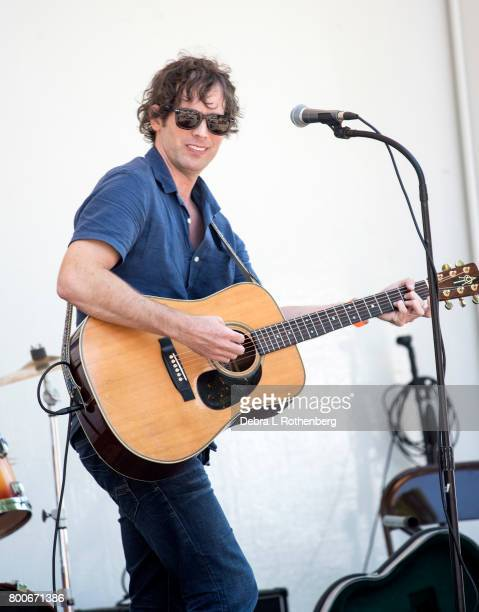 Jesse Terry performs at the RocklandBergen Music Festival at German Masonic Park on June 24 2017 in Tappan New York