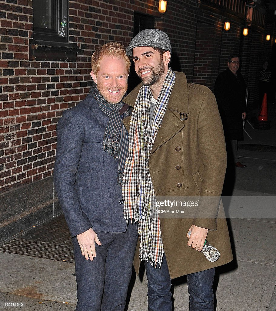 Jesse Tyler Ferguson and Justin Mikita as seen on February 26, 2013 in New York City.