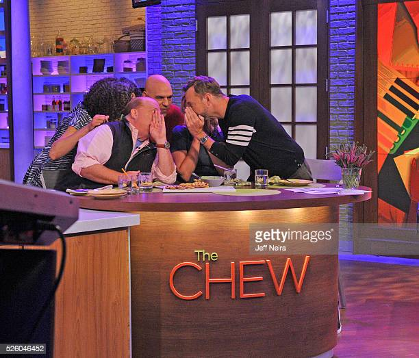 THE CHEW 4/28/16 Jesse Tyler Ferguson appears on THE CHEW airing MONDAY FRIDAY on the ABC Television Network KELLY