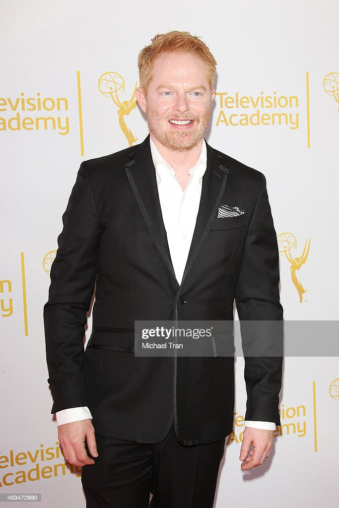 <a gi-track='captionPersonalityLinkClicked' href=/galleries/search?phrase=Jesse+Tyler+Ferguson&family=editorial&specificpeople=633114 ng-click='$event.stopPropagation()'>Jesse Tyler Ferguson</a> arrives at Television Academy's Directors Peer Group choreographers celebration held at Leonard H. Goldenson Theatre on August 10, 2014 in North Hollywood, California.
